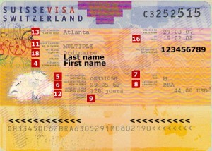 Switzerland-visa