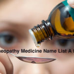 হোমিওপ্যাথি ঔষধের নামের তালিকা Homeopathy Medicine Name List A to Z